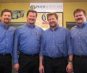 pridemore brothers at pride auto care 30 years of car care experience in Denver Colorado.