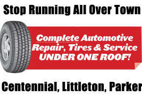 complete automotive repair tires and service under one roof Pride Auto Care Denver Parker Centennial Highlands Ranch